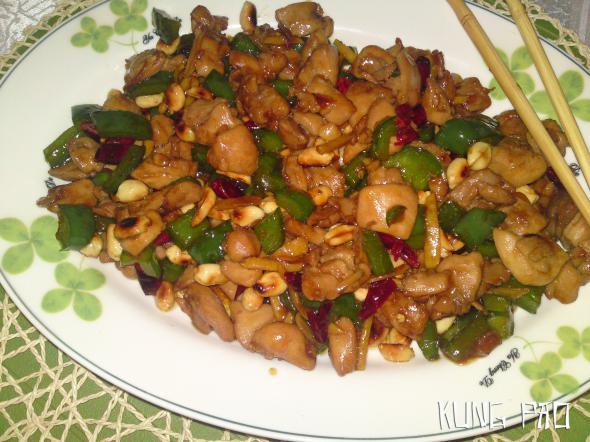 Курица Гунбао, Классический вариант