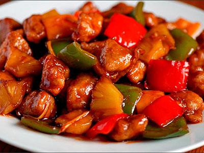 Свинина с арахисом по-китайски