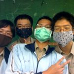 Маски от смога в Китае
