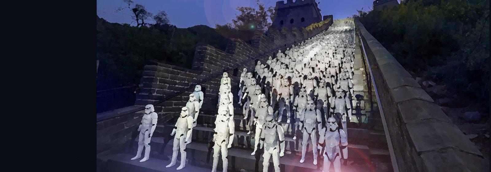 «Звездные войны» по ту стороны Великой стены