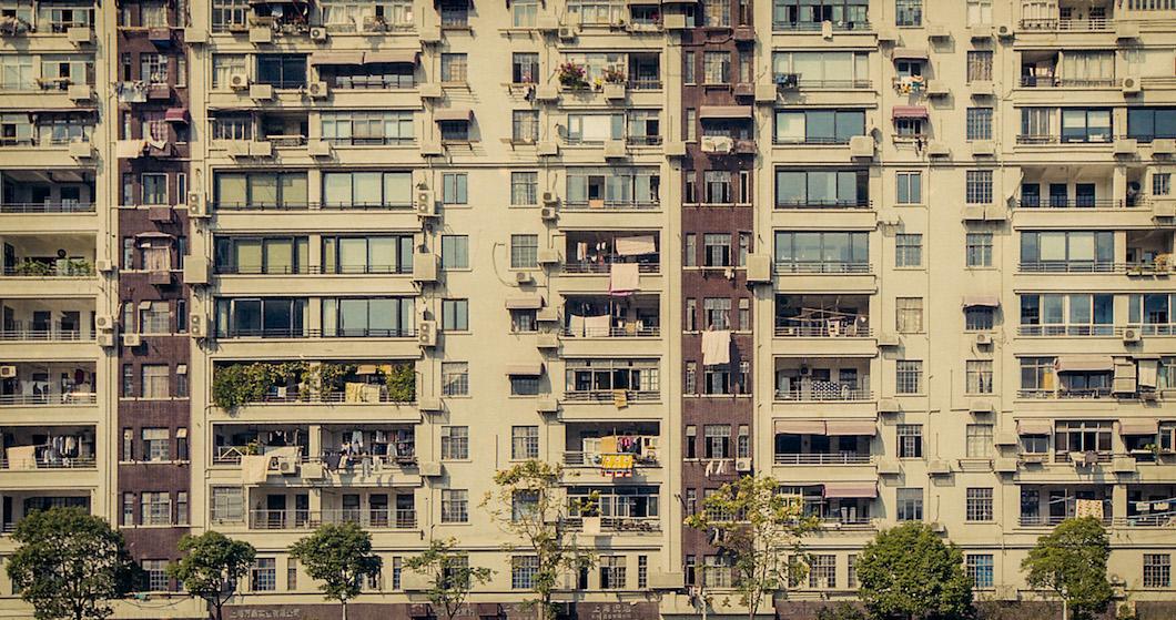 EB building facade