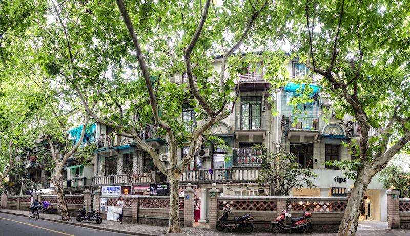 Линда террас со стороны Nanchang road