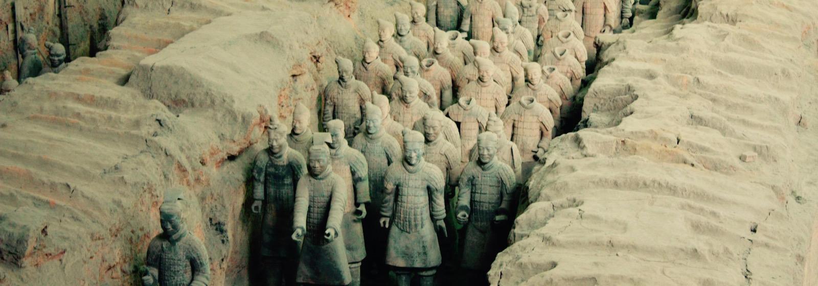 Достопримечательности Сианя, Китай - Гоу Чайна