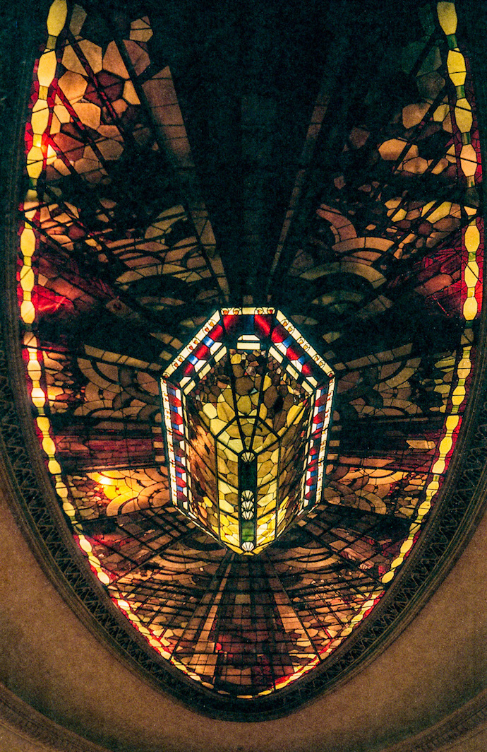 French Club Ballroom Skylight