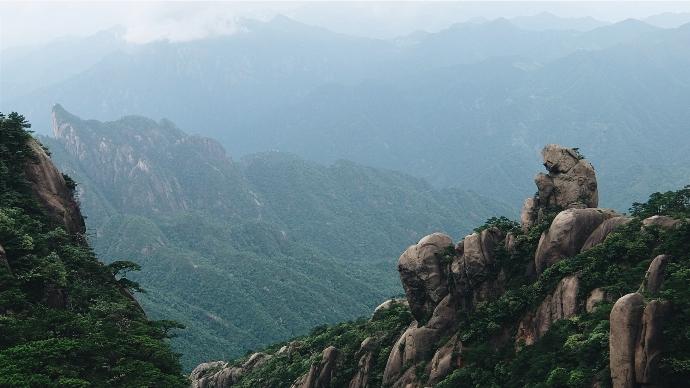 Горы Санциньшань, пров. Цзянси (三清山)