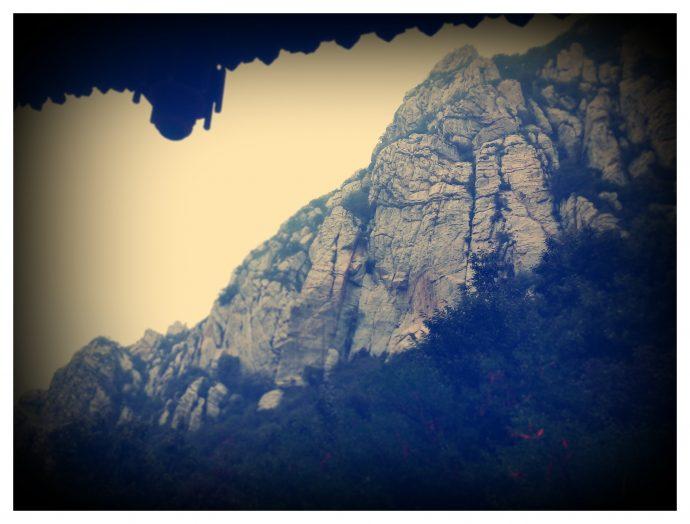Гора Сун, у подножия.