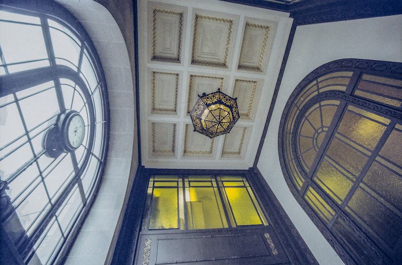 Peace Hotel Entrance
