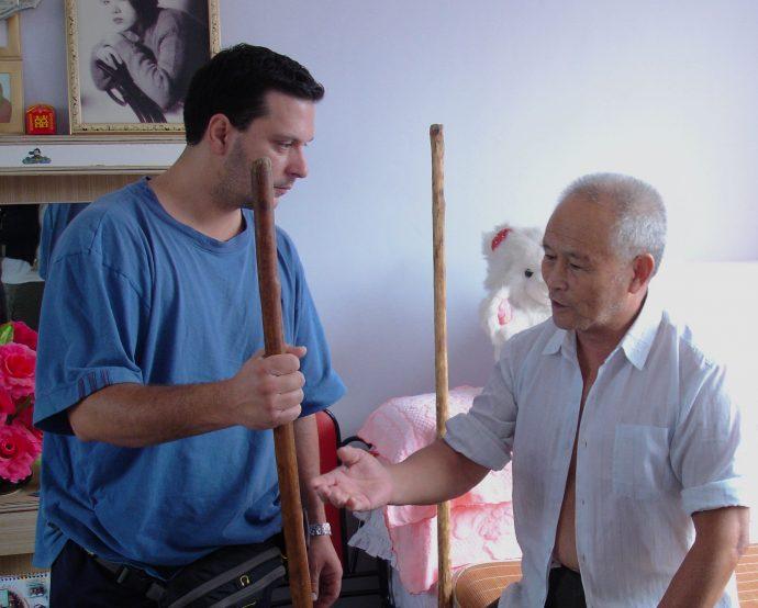 Первая встреча с Мастером Юй Гоцяном, 2005 г.