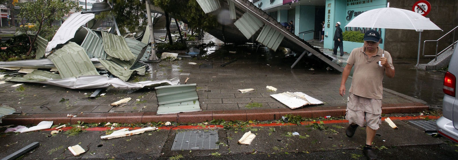 С видом на море и пальмы: тайфуны на юге Китая