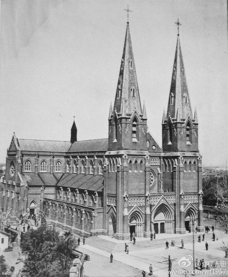 Собор Святого Игнатия, 1950-е. Источник: weibo