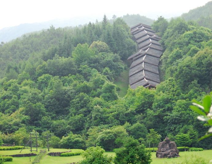 Драконья печь в горах Уишань. Источник: mapio.net