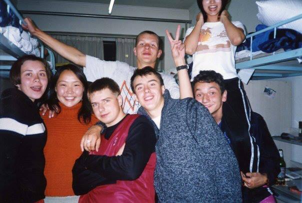 Общежитие для иностранных студентов, г. Чанчунь, 2004 г.