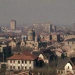 Потускневшие купола без крестов среди крыш бывшей Французской концессии в 1990-е годы (с) flickr Cities in Old Days
