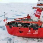 Китайский ледокол в Арктике
