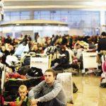 482 китайских туриста застряли в аэропорту Домодедово