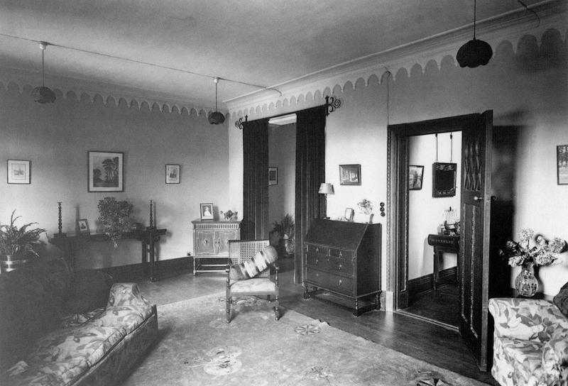 Интерьер одного из особняков в Беверли Гарденс