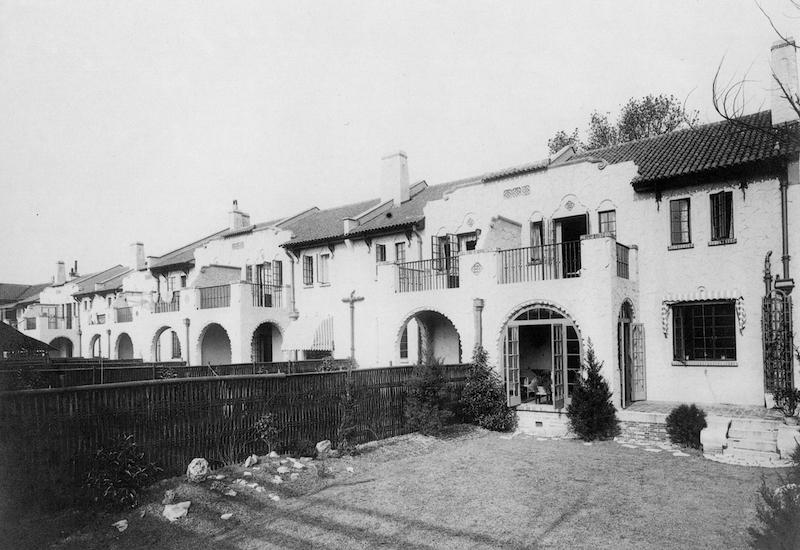 Ряд домов Беверли Гарденс