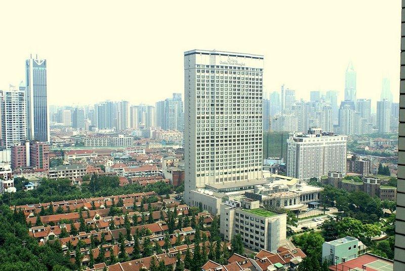 Вид на квартал с высоты