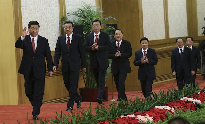 Новые лидеры Китая. Источник: reuters.com