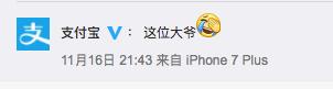 Alipay Account