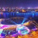 Mercedez Arena в Шанхае