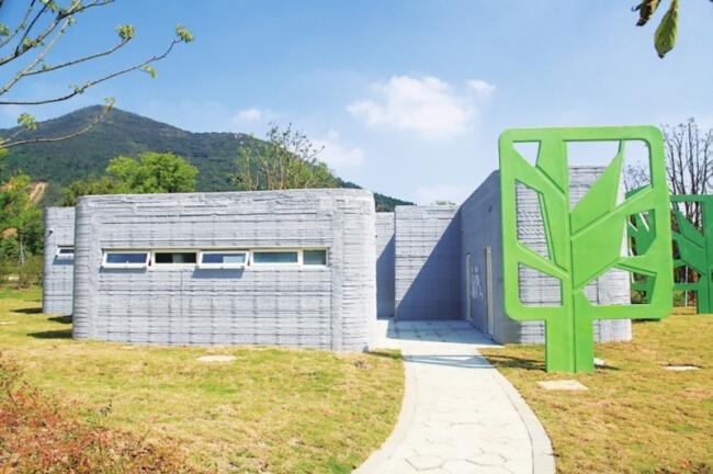 туалет на 3D принтере в Сучжоу