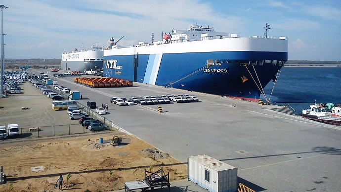 порт китай индия