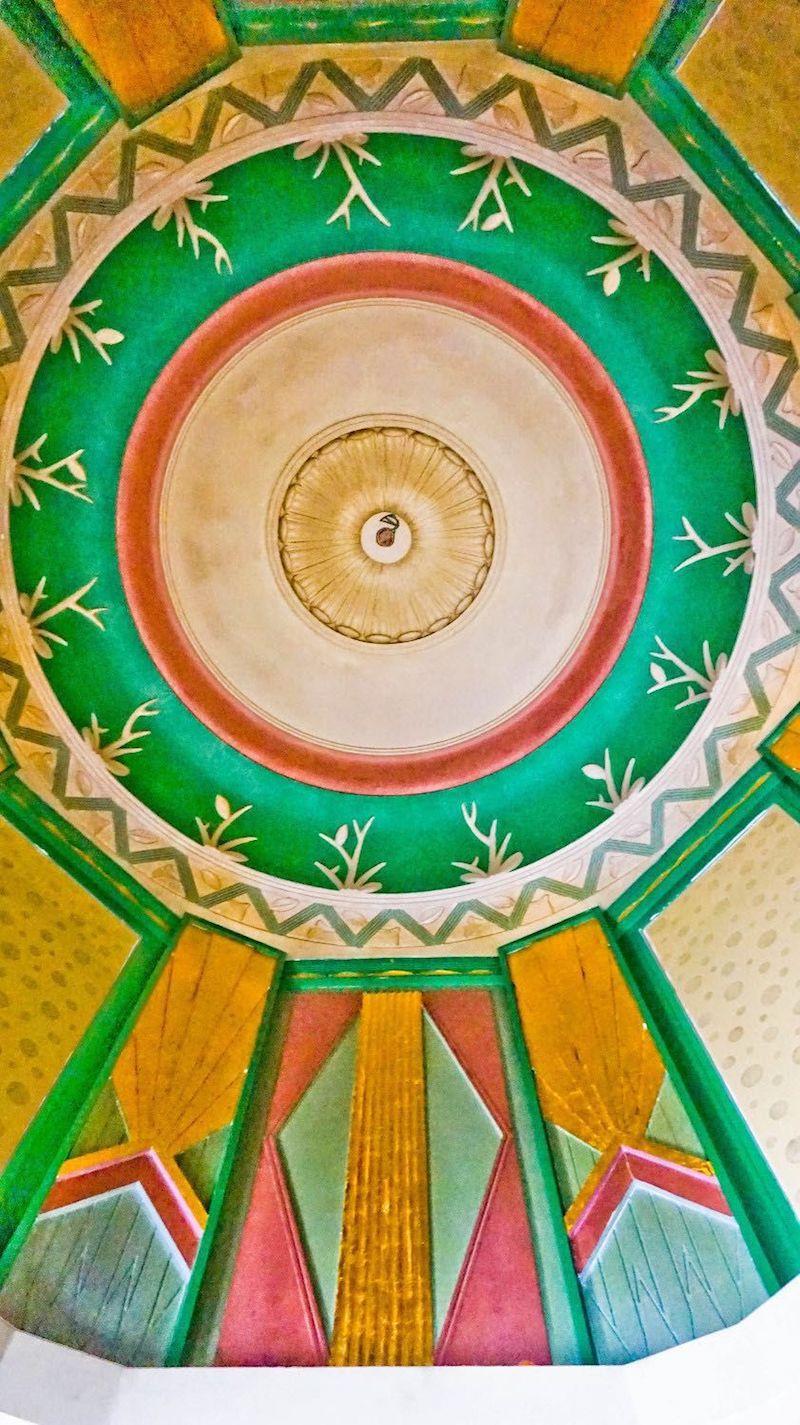 Купол в фойе. Источник: Emmanuel Chantebout