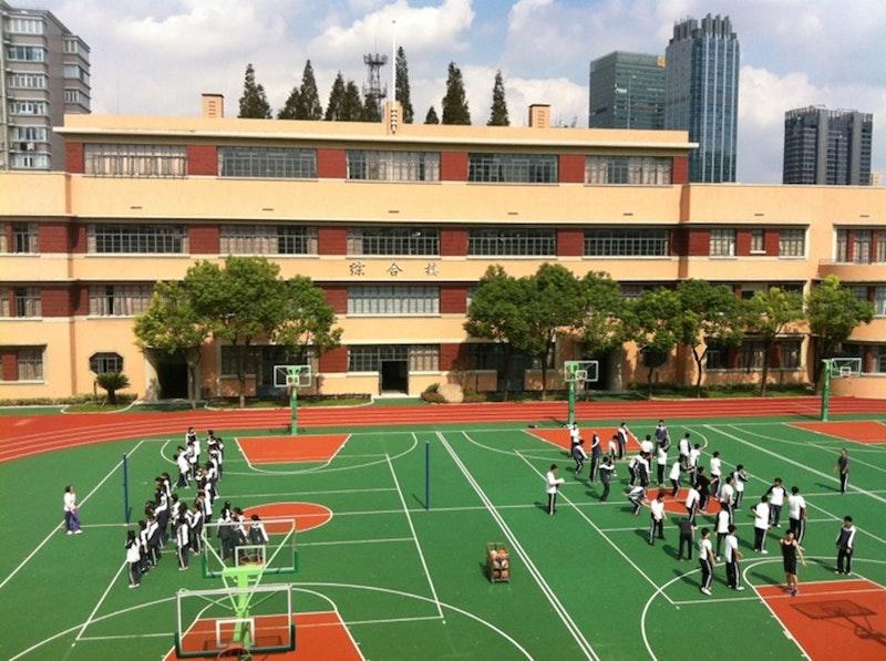 Здание школы в наши дни. Источник: foursquare.com