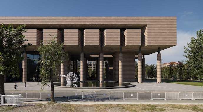 Художественный музей университета Цинхуа