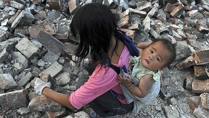 бедность китай нищие