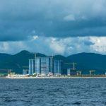 Искусственный остров возле Ваньина
