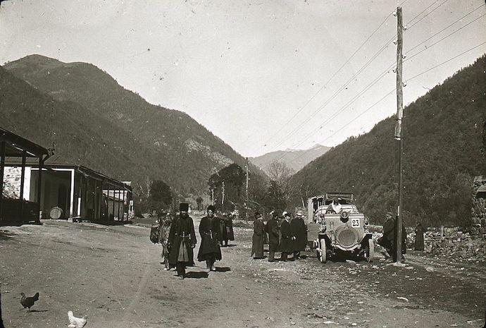 Пасанаури в 1910-х. Источник: humus.livejournal.com