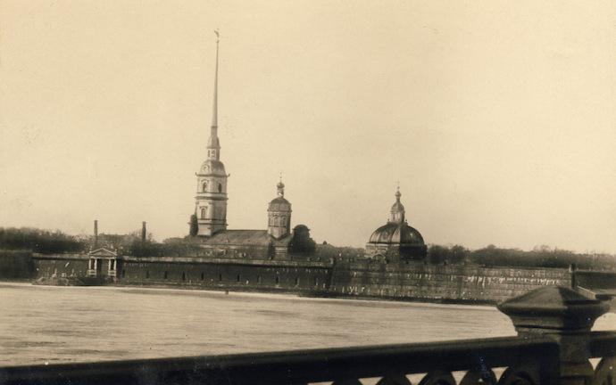 Петропавловская крепость в 1930-х. Источник: humus.livejournal.com