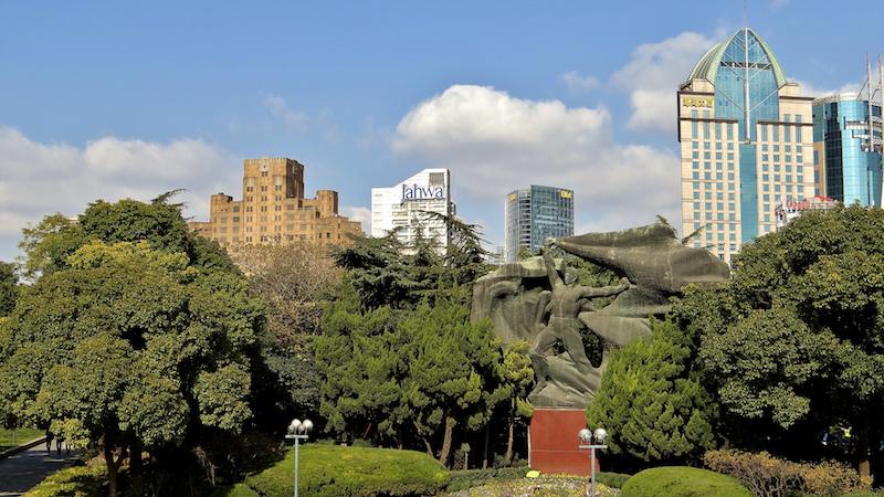 Парк Хуанпу - когда-то Общественный сад. Источник: flickr Sheyne Lucock