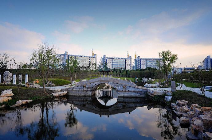 Кампус ECNU в Миньхане (Шанхай). Источник: lxs.ecnu.edu.cn