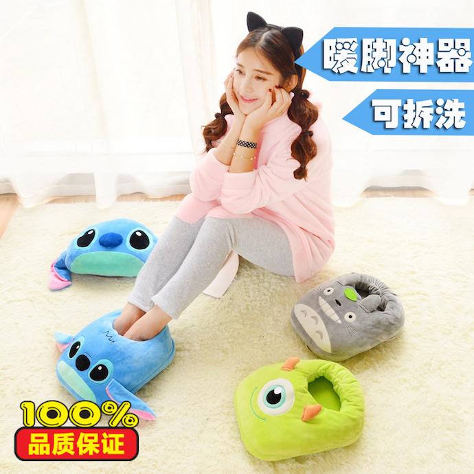 Для дополнительного комфорта можно использовать точечный обогрев. Например, грелку для ног. Источник: 华代购