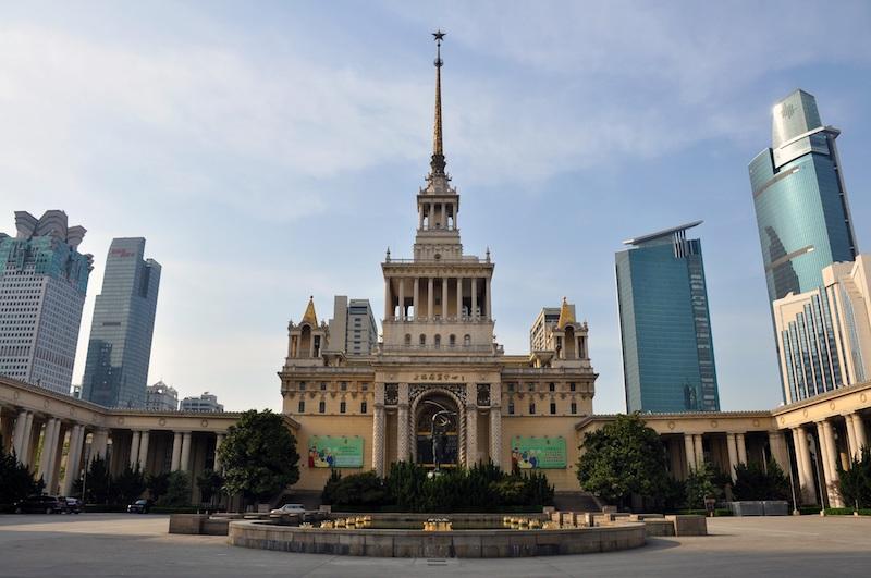 Общий вид выставочного центра в наши дни. Источник: Fayhoo, Wikipedia