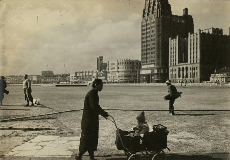 Северная оконечность рейскорса, виден Парк-отель и ХСМЛ. Источник: Google Cultural Institute