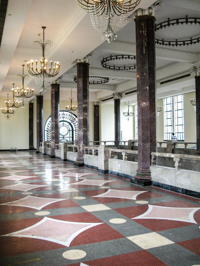 Выставочный центр, внутреннее убранство. Источник: Катя Князева