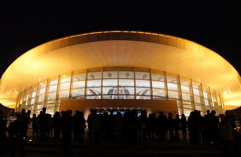 Здание Дворца культуры на месте Канидрома. Источник: flickr J J Gao