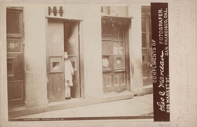 Китайский бордель в Сан-Франциско (1890). Источник: ChinatownCharlie / flickr