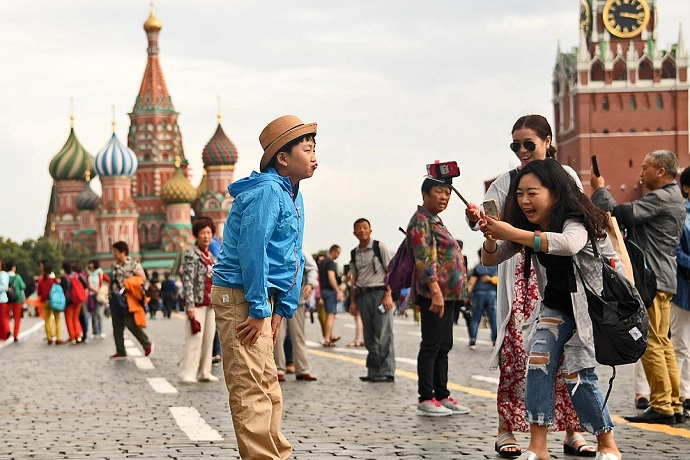 китай туристы