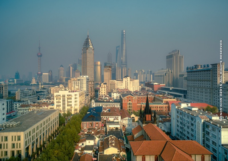 Больше не самое высокое здание в Шанхае. Источник: Stoney Zhang Genovision
