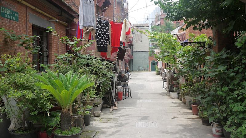 Поперечная аллея в квартале Jing'an Villas. Источник: flickr David randomwire