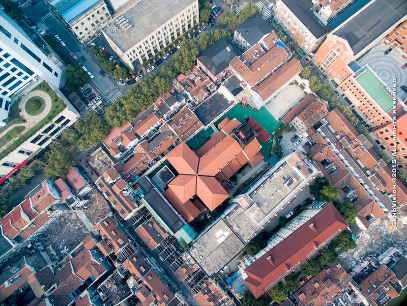 Церковь св. Иосифа с высоты. Источник: Stoney Zhang Genovision