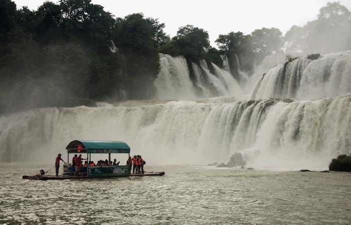 водопад, Гуанси