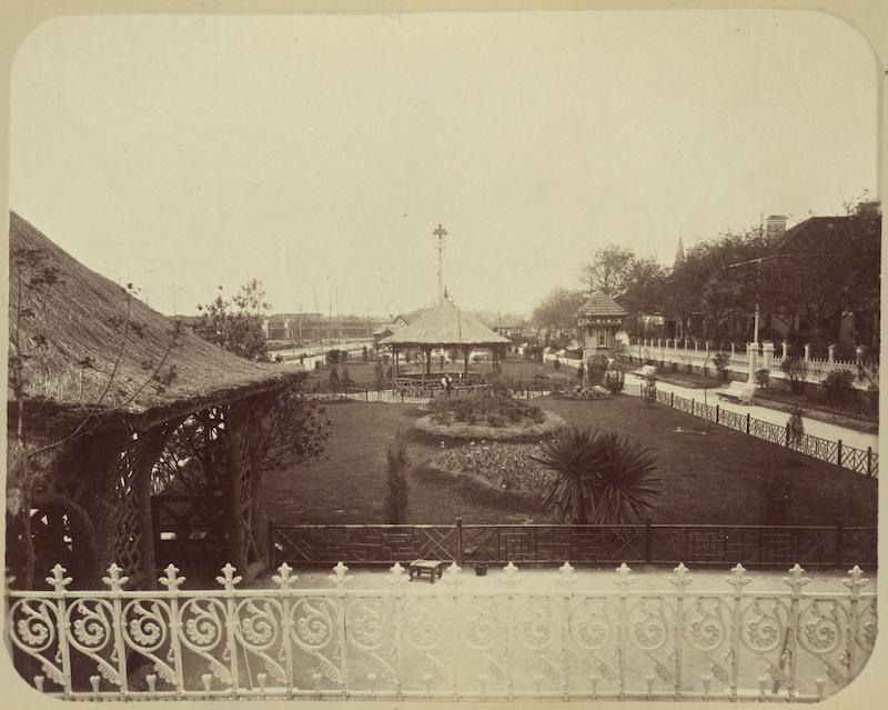 Новый общественный сад в 1890-е. Источник: John Thomson