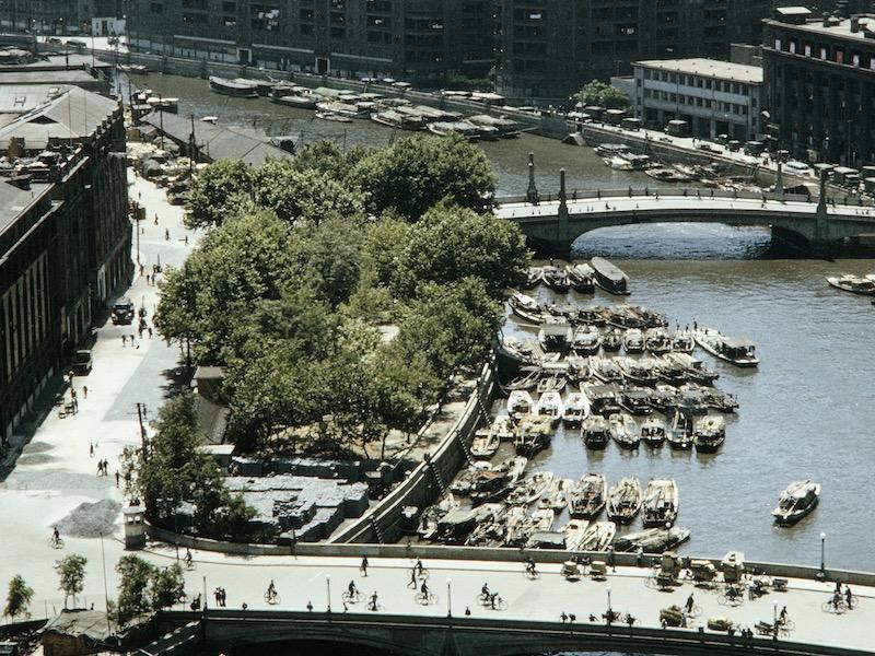 Разросшийся парк в 1970-е годы. Источник: Harrison Forman