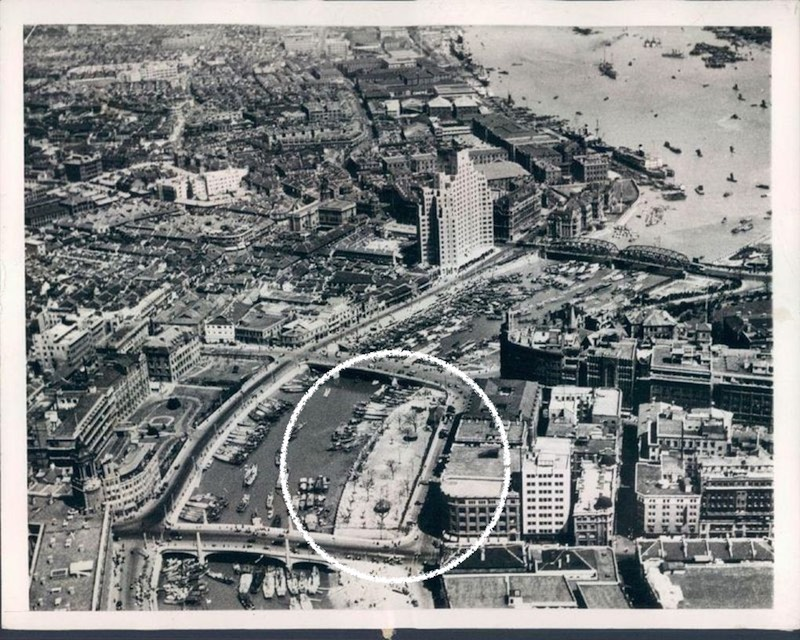 Вид речки Сучжоу в 1937 году. Источник: virtualshanghai.net